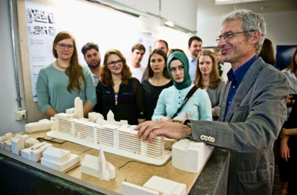 Hochschule f r technik stuttgart schwabenzentrum muss for Architekturstudium teilzeit