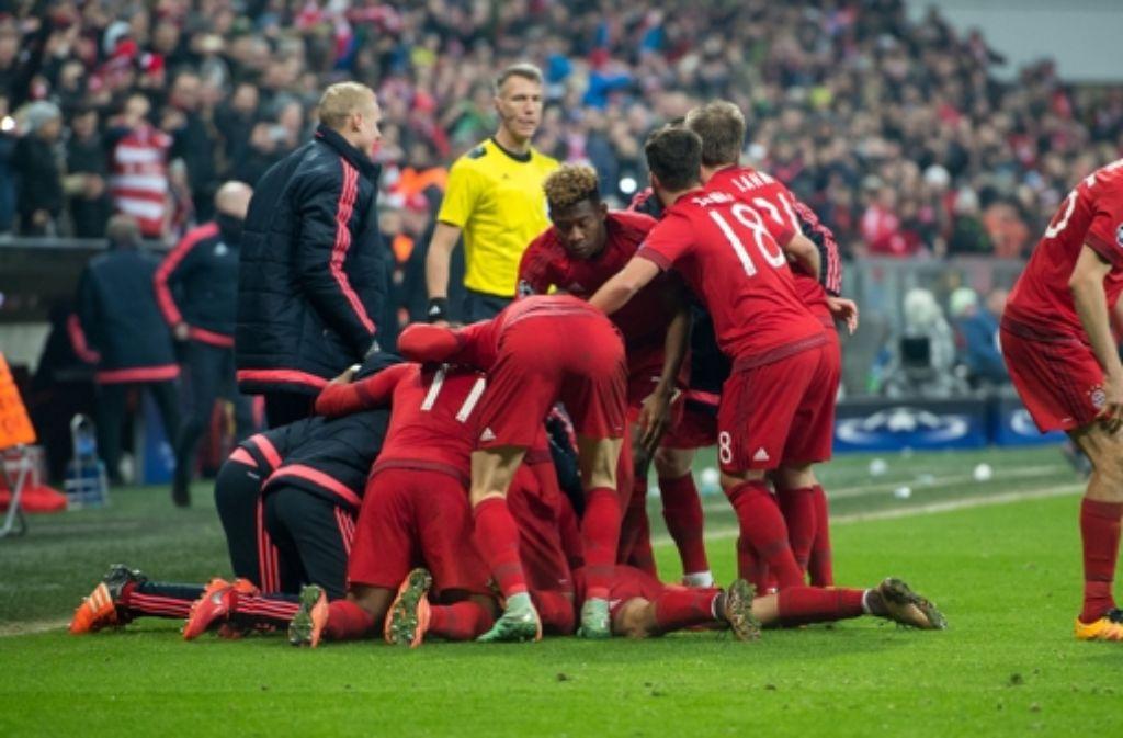 Champions league grandioses bayern comeback gegen juve for Nachrichten fussball