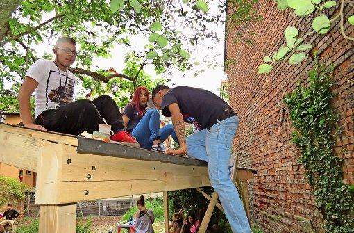 Jugendliche wollen ein Dach über dem Kopf