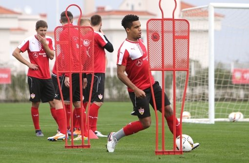 Daniel Didavi und der VfB Stuttgart bereiten sich in Belek auf die neue Saison vor. Foto: Pressefoto Baumann