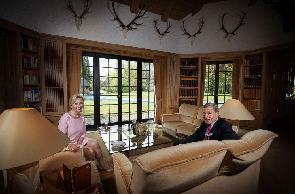Unternehmerpaar Elisabeth Und Wolfgang Grupp Unsere