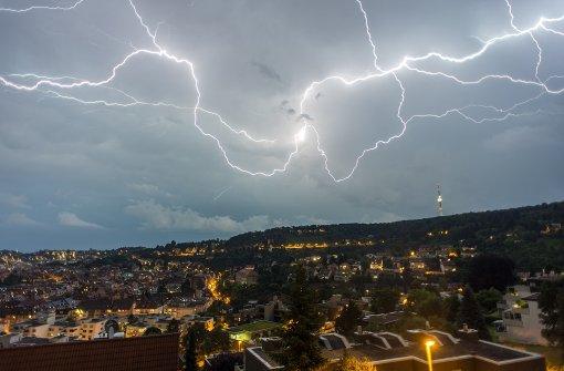 Am Dienstag drohen Gewitter mit Regen und Hagel.  Foto: 7aktuell.de/Gerlach