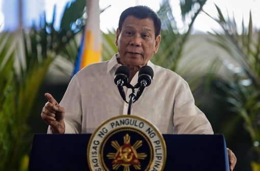 Duterte vergleicht sich mit Adolf Hitler