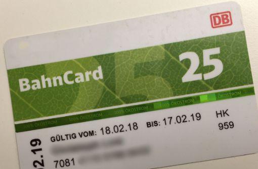 bahncard 25 für junge leute