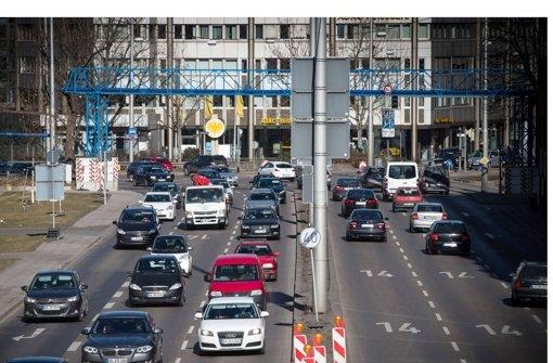 Mit am höchsten sind die Feinstaubwerte am Neckartor Foto: Lichtgut/Achim Zweygarth