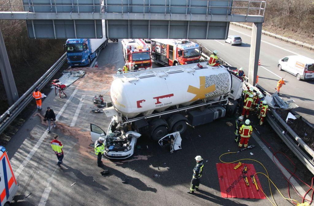Unfall A81 Aktuell