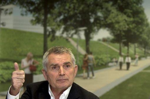 Wolfgang Dietrich, der Sprecher des Bahnprojekts Stuttgart 21, sieht keine realisierbaren Alternativen. Foto: dpa
