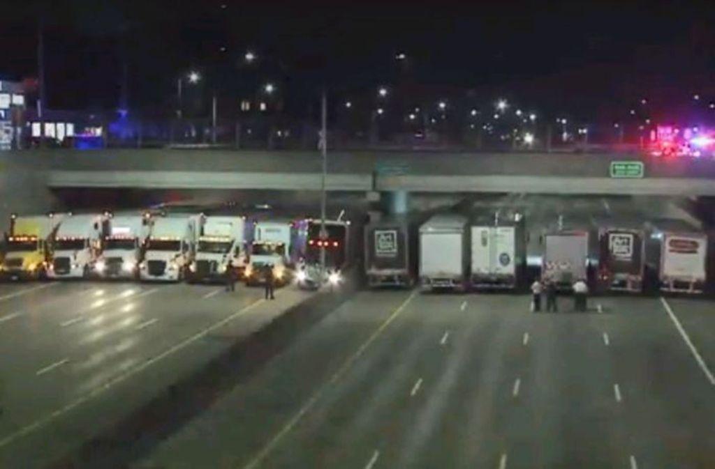 Detroit: Trucker bewahren Mann vor Suizid - Panorama - Stuttgarter ...