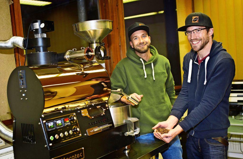 Kaffee aus dem Kreis Esslingen - Zwei Kaffeeröster wollen Nürtingen beleben - Stuttgarter Nachrichten