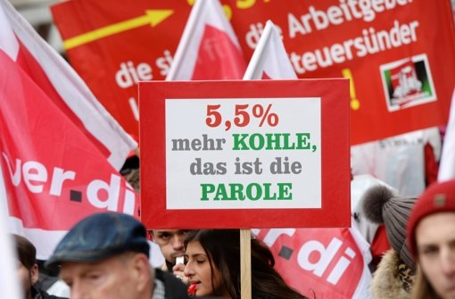 Die Gewerkschaft Erziehung und Wissenschaft fordert unter anderem 5,5 Prozent mehr Gehalt für angestellte Lehrer. Foto: dpa