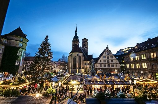 Stuttgart Weihnachtsmarkt.Weihnachtsmarkt Wie In Der Schweiz Nur Ohne Schnee