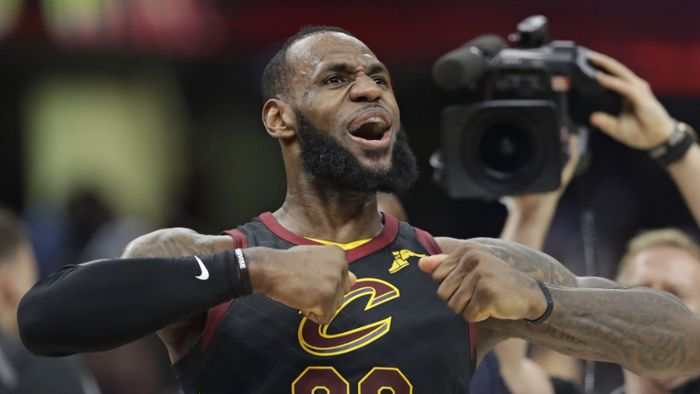 Superstar LeBron James wechselt zu Los Angeles Lakers