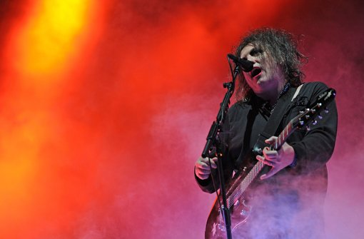 The Cure beim Southside-Festival Foto: dpa