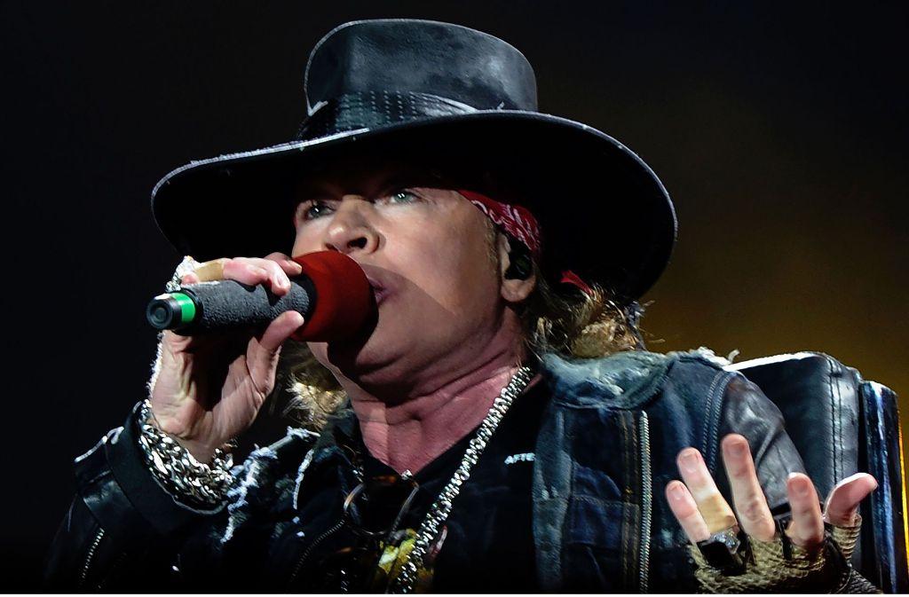 Guns N Roses Auf Tour Slash Und Axl Sind Ticket Millionäre