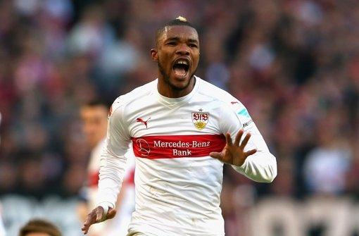 Serey Dié erzielt seinen ersten Bundesligatreffer gegen Berlin. Foto: Getty