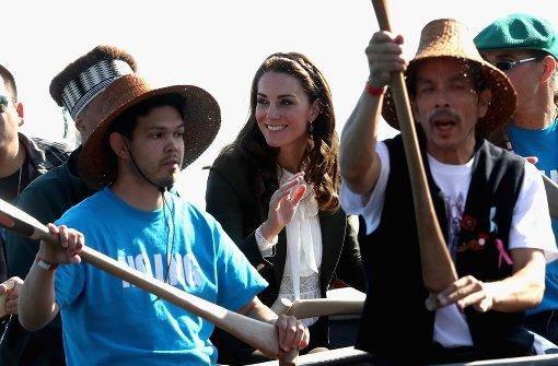Kate und William besuchen abgelegene Insel