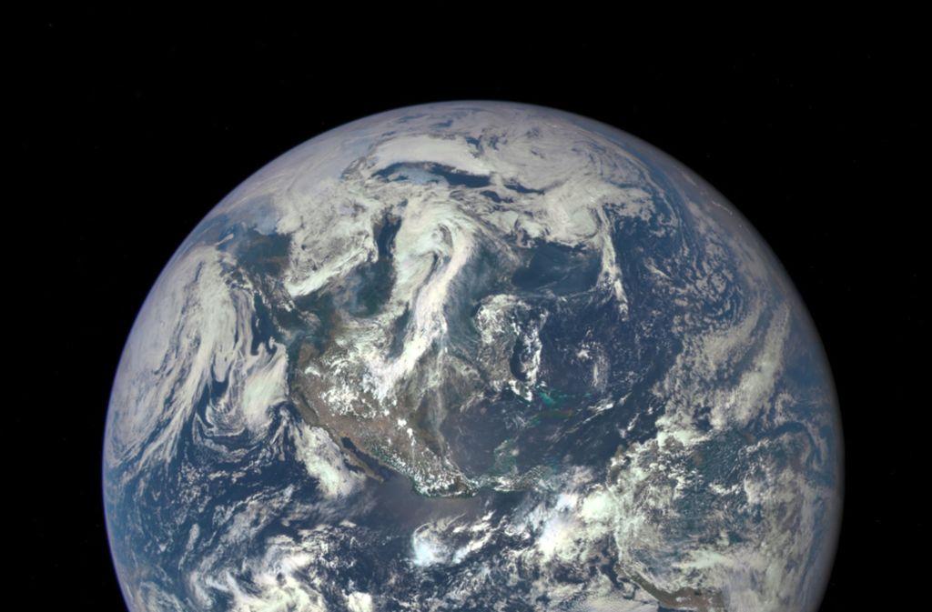 Probelauf Für Mond Und Mars Satellit Mit Tomaten Und Urin An Bord