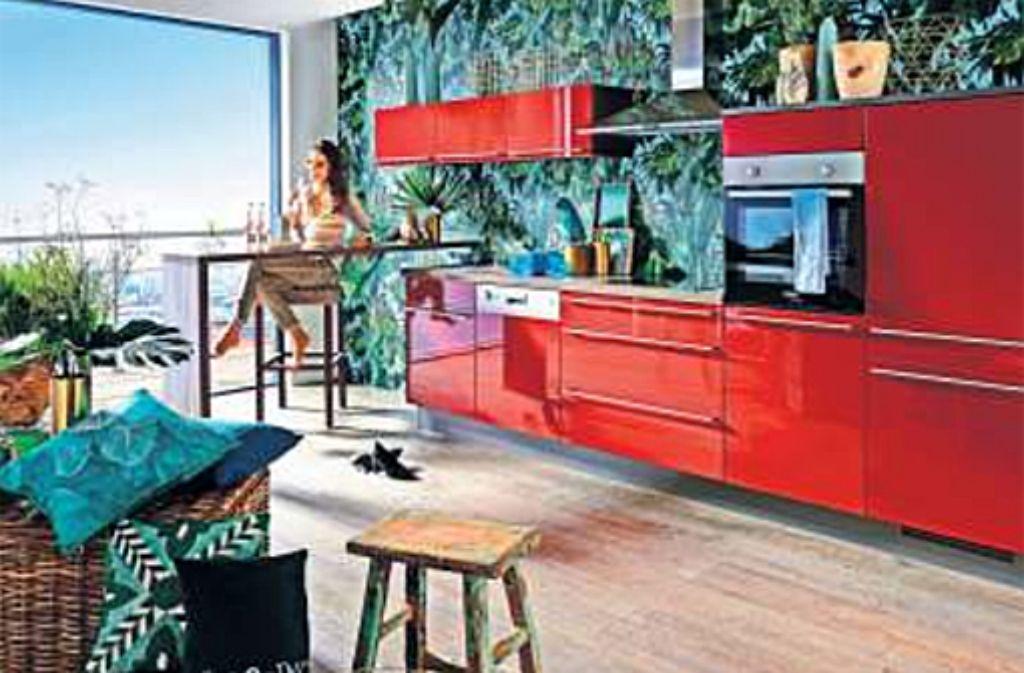 zeitgeist moderne k cheneinrichtungen nach gusto und ma bauen wohnen stuttgarter nachrichten. Black Bedroom Furniture Sets. Home Design Ideas