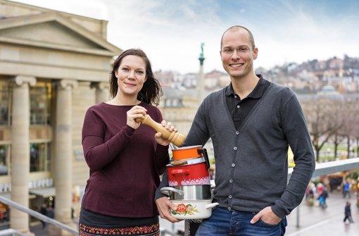 Die Organisatoren Birgit Kastner und Ulrich Dilger freuen sich auf Meinungen der Teilnehmer Foto: Salz und Suppe