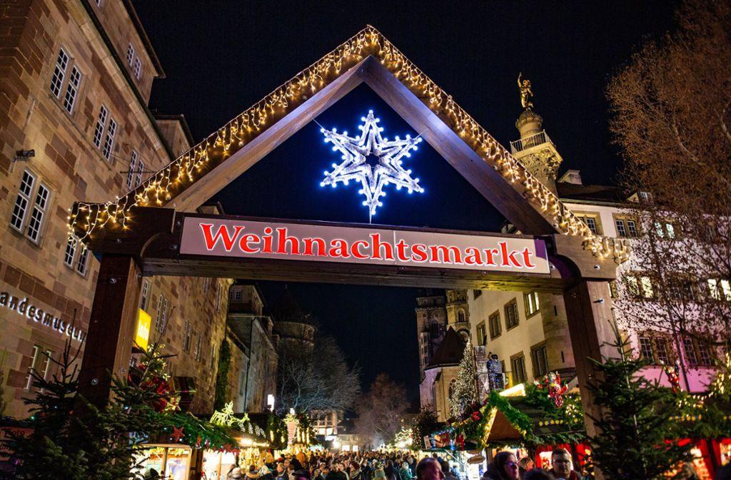 Stuttgart Weihnachtsmarkt.Weihnachten 2018 So Schon Ist Der Stuttgarter