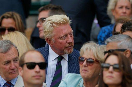 """Boris Becker """"kalt erwischt"""""""
