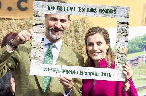 Letizia und Felipe auf Tour in Asturien