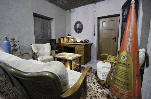 Bunkermuseum zeigt Hitlers Wohnzimmer