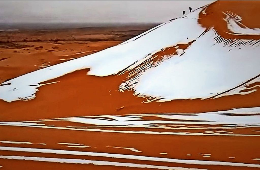 Kinderwissen Schnee In Der Wüste Sahara Wissen Stuttgarter