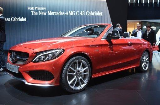 Das neue Mercedes-AMG C 43 Cabriolet. Foto: dpa