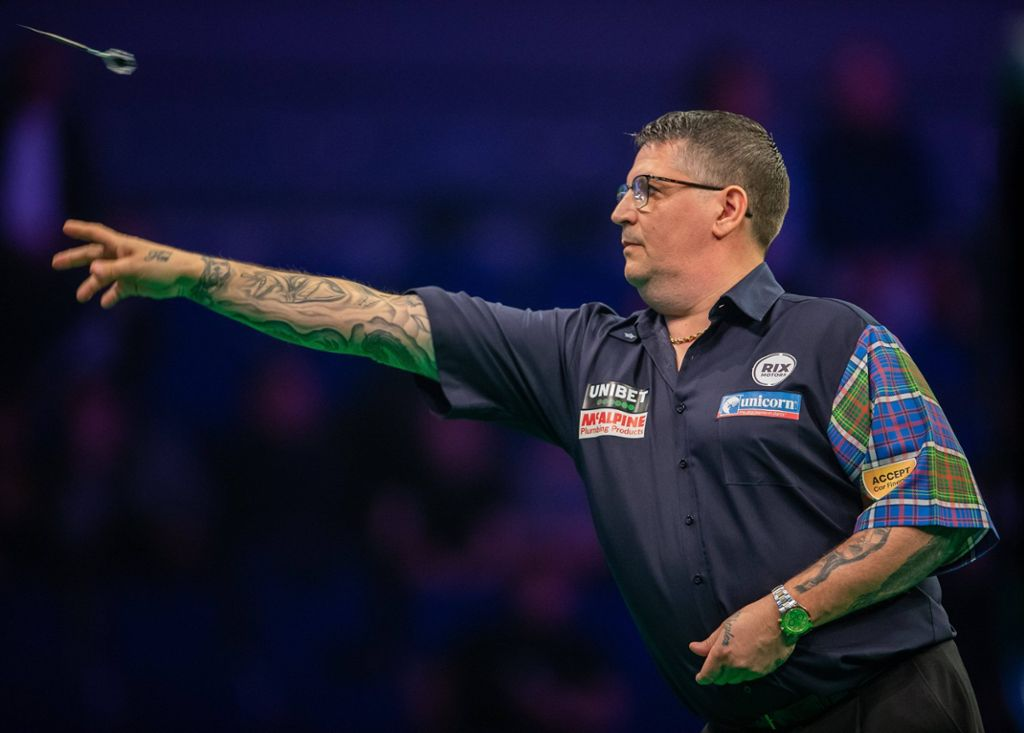 Darts-Weltmeister Gary Anderson (Archivbild) Foto: imago images