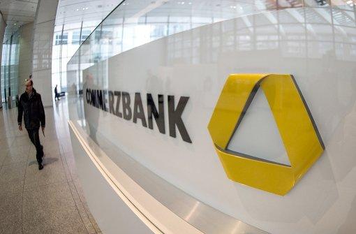 Holpriger Start für Commerzbank