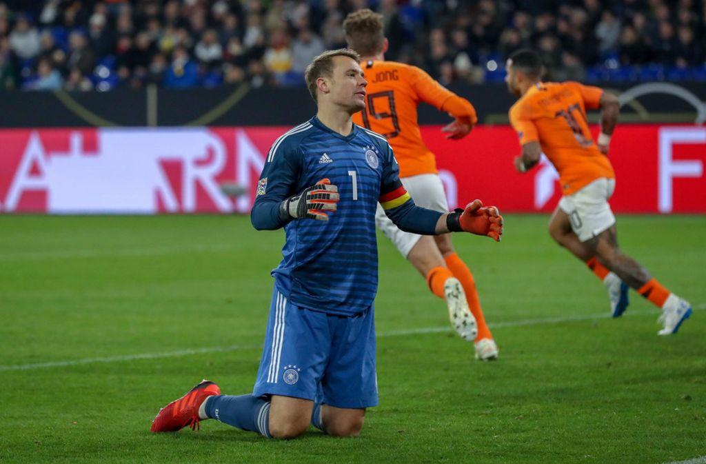 Deutschland Gegen Niederlande Voetbal Totaal Verruckt