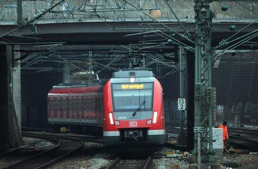 Wieder pünktlicher unterwegs: S-Bahn in der Region Stuttgart Foto: Lichtgut/Achim Zweygarth