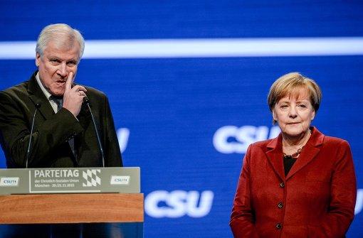 CDU beschwichtigt, CSU zündelt weiter