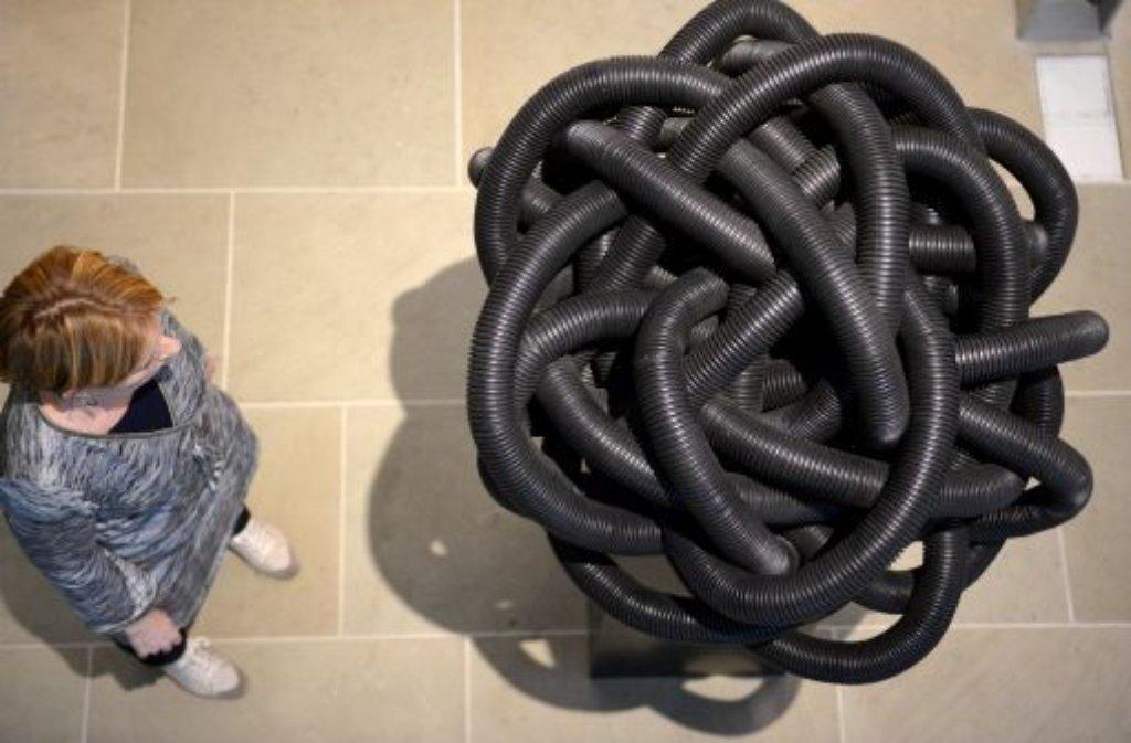 st dtische galerie bietigheim bissingen das spiel mit materialien aus dem baumarkt s zene. Black Bedroom Furniture Sets. Home Design Ideas