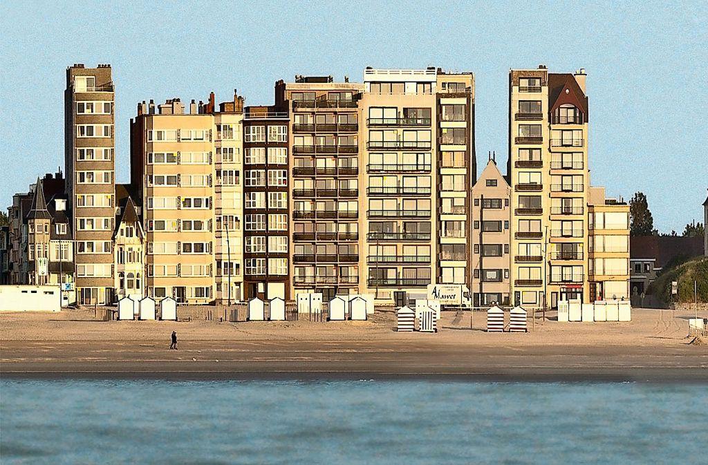 Bauwahn An Belgiens Küste Vor Dem Meer Sind Alle Gleich Panorama Stuttgarter Nachrichten