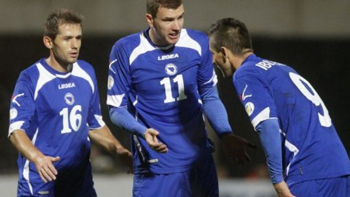 Ibisevic sichert Bosnien erstes WM-Ticket