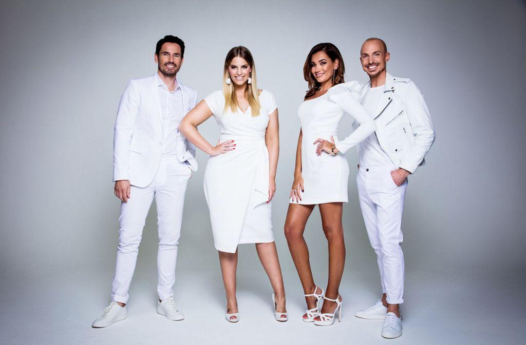 Castingshow Cury Supermodel Kurvige Frauen Stehen Im Fokus