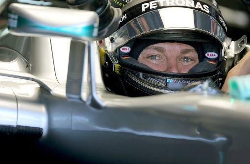 Rosberg Schnellster im ersten Training