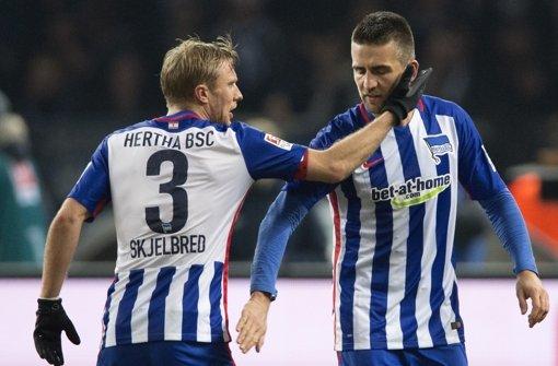 Die Hertha kann sich langsam auf die Champions League einstellen. Foto: dpa