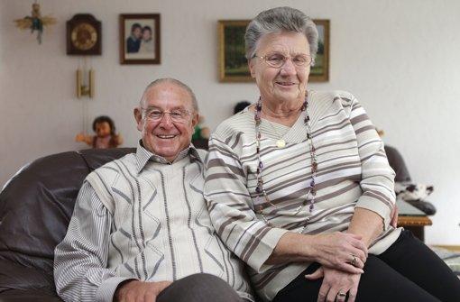 Doppelpass: Günter und Erika Sawitzki. Foto: Pressefoto Baumann