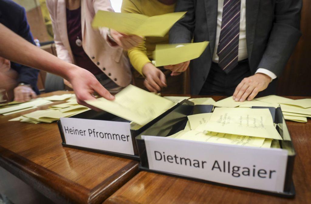 Landratswahl in Ludwigsburg - Trotz Parteitaktik hat der Kreistag richtig entschieden - Stuttgarter Nachrichten