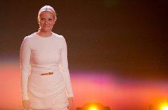 Sie war der Stargast des Abends: Norwegens Kronprinzessin Mette-Marit. Sie bekam ... Foto: dpa