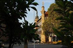 ... am Schlossplatz, ...br Foto: Leserfotograf zarheiner