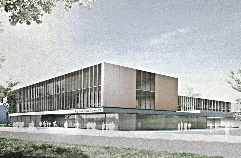 elly heuss knapp gymnasium in bad cannstatt neues konzept kostet knapp 39 millionen euro bad. Black Bedroom Furniture Sets. Home Design Ideas
