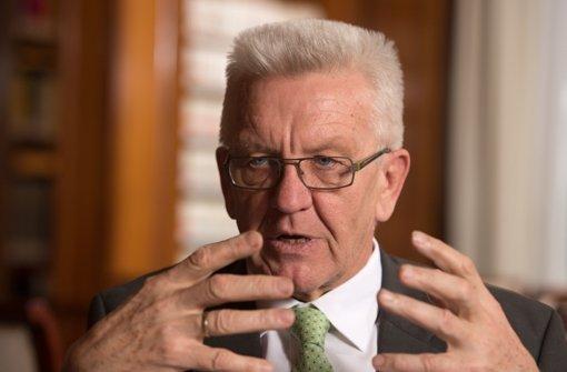 Winfried Kretschmann will Bayern unterstützen