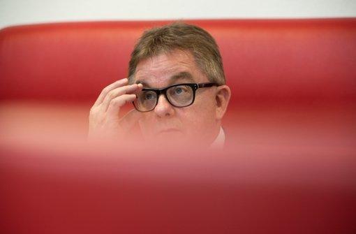 Mäßige Umfragewerte: CDU-Spitzenkandidat Guido Wolf Foto: dpa