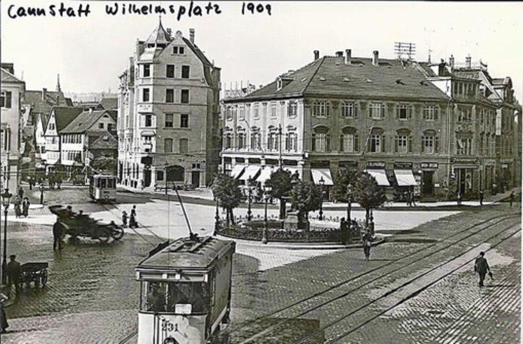 Stuttgart Album So Hübsch War Der Wilhelmsplatz In Cannstatt