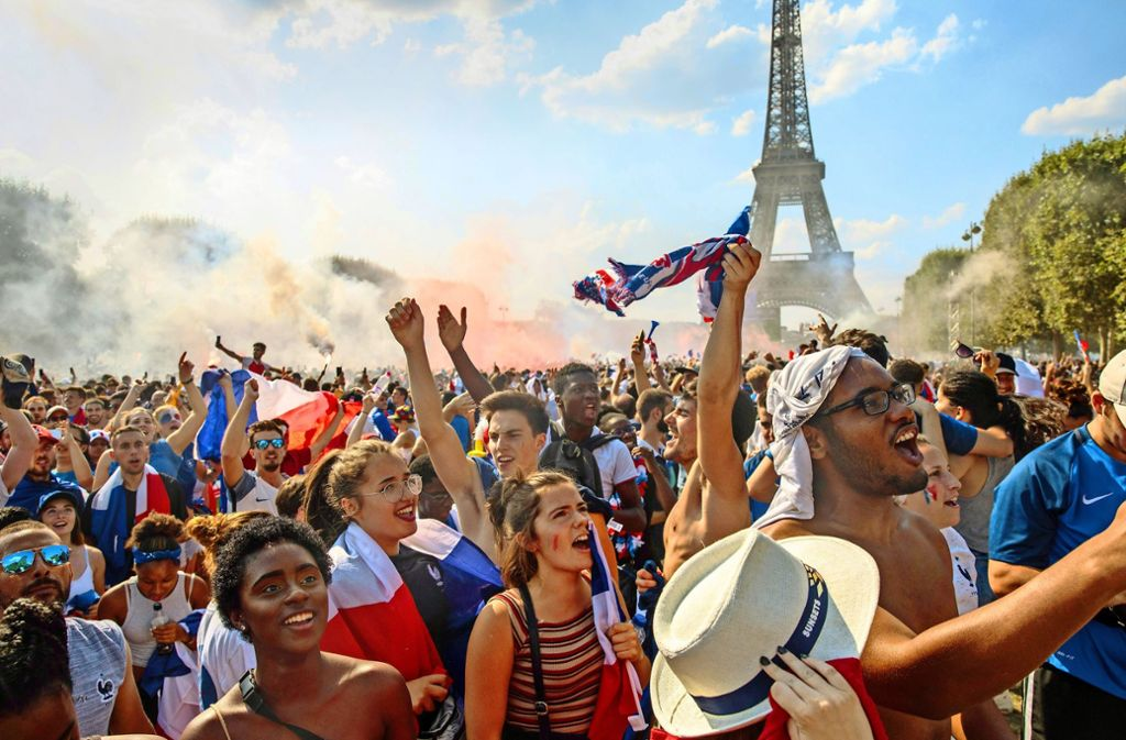 Weltmeistertitel Frankreich