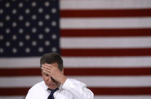 Auch Republikaner John Kasich steigt aus